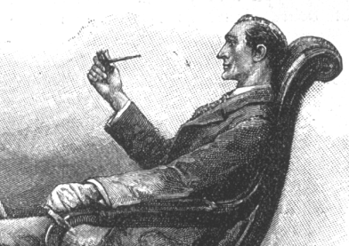 Sherlock Holmes - as depicted by artist Sidney Paget in the Strand (PhotoBucket)