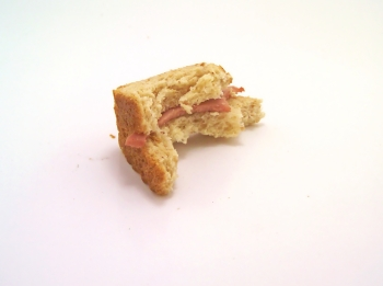 Bite of Sandwich
