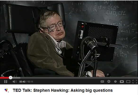 Ted Talk: Stephen Hawking