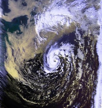 unnamed hurricane of 1991 (NOAA)