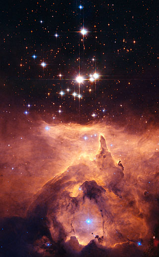 The star cluster Pismis 24